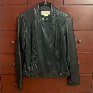 Michael Kors leather jacket size M